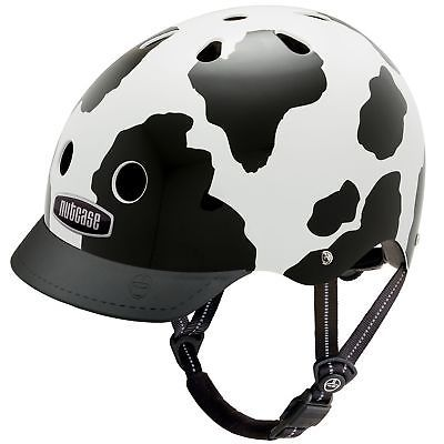 Nutcase - Patterned Street Bike Helmet for Adults Moo Medium1  EAN - 0817852014617, UPC - 817852014617, Color - Moo, Size - Medium