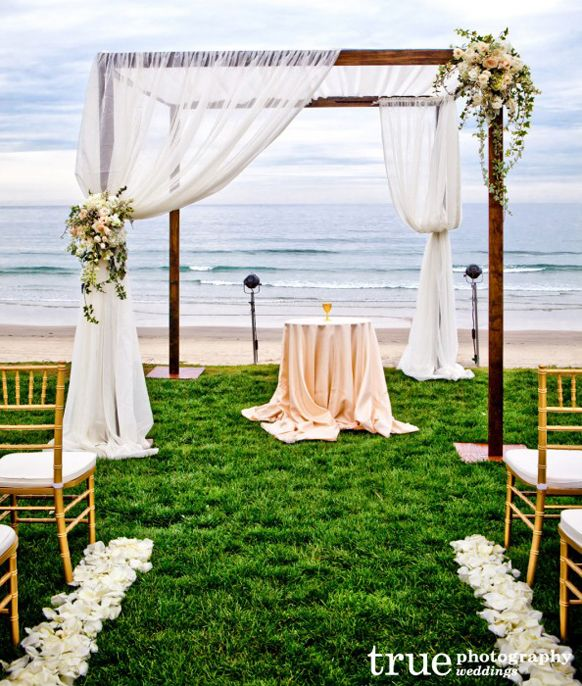 #Blush #beach #wedding #ceremony ... Best Wedding #App ... The how, when, where & why of wedding planning for brides, grooms, parents & planners ... https://itunes.apple.com/us/app/the-gold-wedding-planner/id498112599?ls=1=8 … plus lots of #budget wedding ideas ♥ The Gold Wedding Planner iPhone App ♥ http://pinterest.com/groomsandbrides/boards/