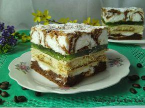 Jak w każdą sobotę zapraszam Was na pyszne ciasto. Tym razem proponuję ciasto Hrabina. Doskonałe na każdą okazję. Idealny deser do sobotniej kawy. SKŁADNIKI: Ciasto c...