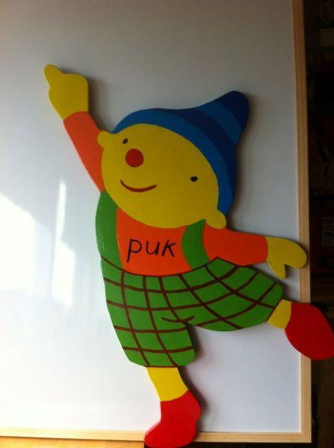 Welkom puk - Themahoek/tafel - Uk&Puk Kleurige Puk!