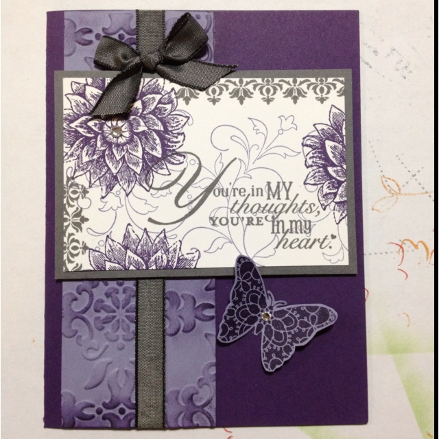 Stamperjadeb.Blogspot.Com/: Cards Flower, Cards Create Elements, Cards Ideas, Cards Safe, Butterflies Cards, Cards Inspiration, Cards Candy Tak, Anniversaries Cards, Cards Kondol