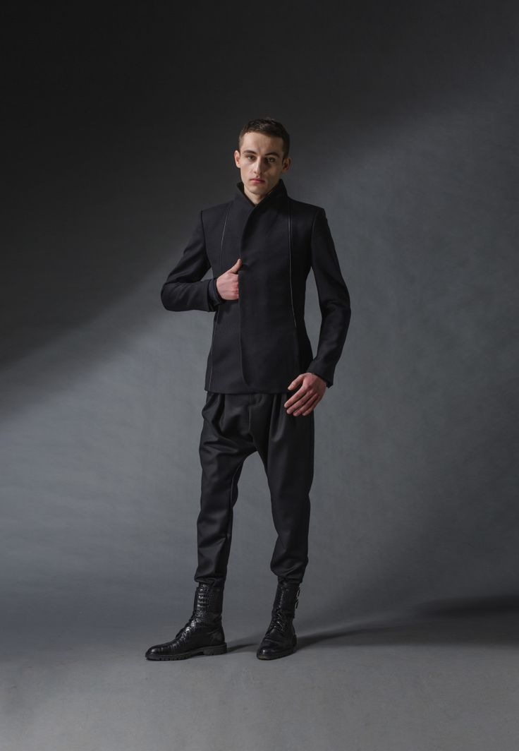 "samurai jacket michal kozlowski | diploma collection ""debut"" 