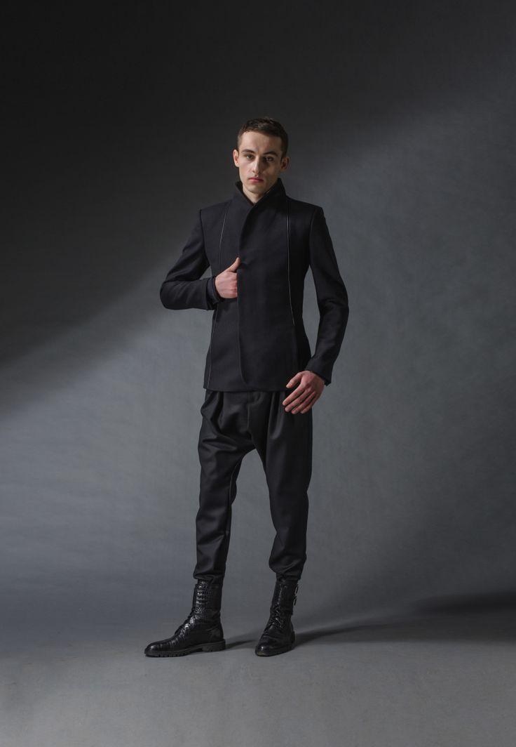 "samurai jacket michal kozlowski   diploma collection ""debut""   2014"