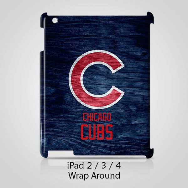 Chicago Cubs Custom iPad 2 3 4 Case Cover