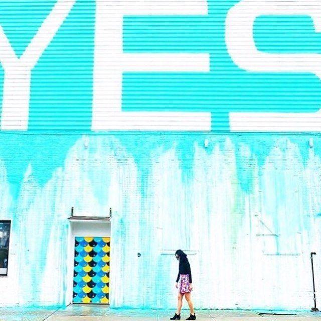 Say Yes to Adventures Photo   @theaggiediaries via @wearetravelgirls #Brooklyn #NewYork #Adventures