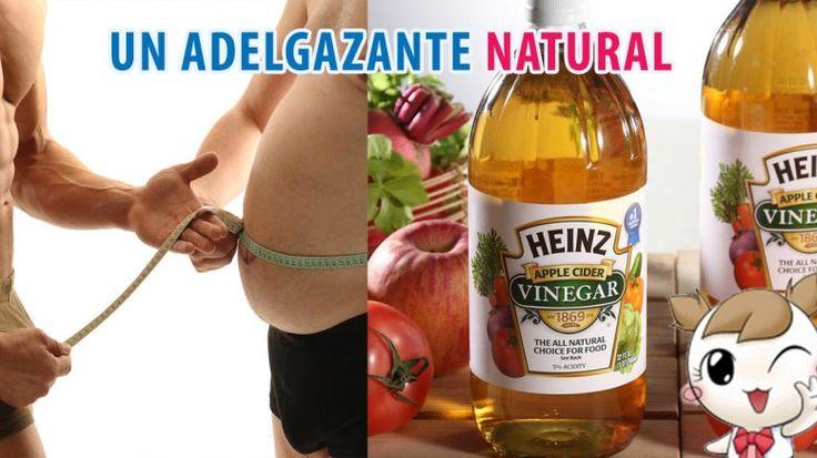 Un adelgazante natural, el vinagre de sidra de manzana