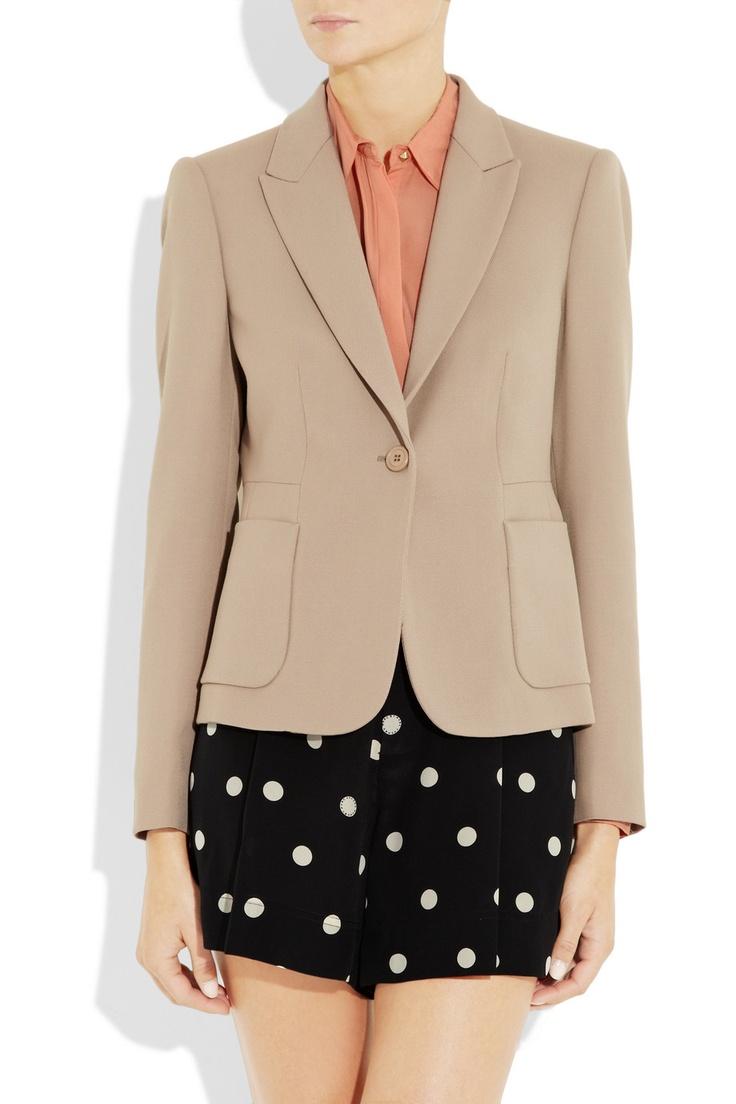 MIU MIU  Wool-twill blazer