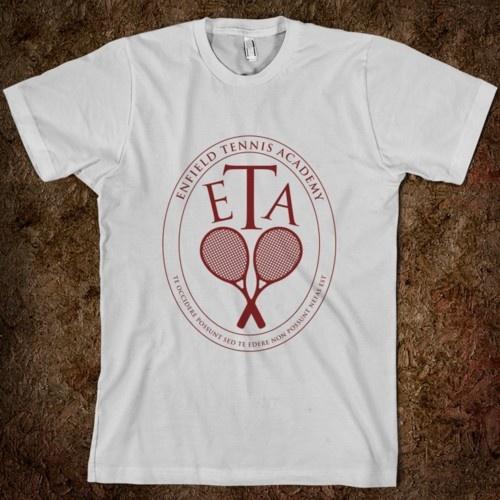 Enfield Tennis Academy. Unendlicher T-Shirt Spaß.