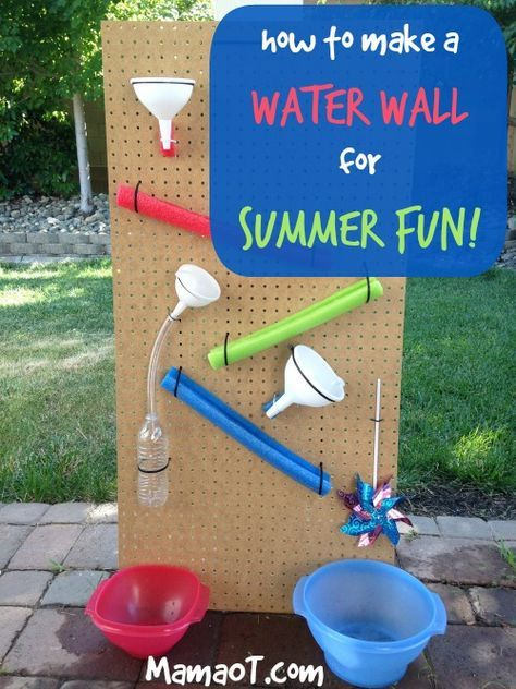 17 Best images about wasserbahn on Pinterest Pvc pipes, Kid and - wasserspiel fur kinder im garten