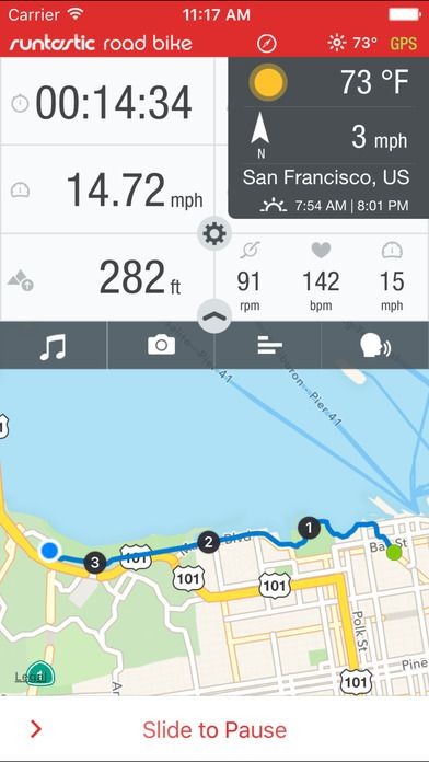 Runtastic Road Bike GPS Cycling Route Tracker PRO on App Store:   The Runtastic Road Bike app developed by road biking experts turns your iPhone into a top GPS cycling computer with an array of incredible features!...  Developer: runtastic  Download at http://ift.tt/1rhGVq6