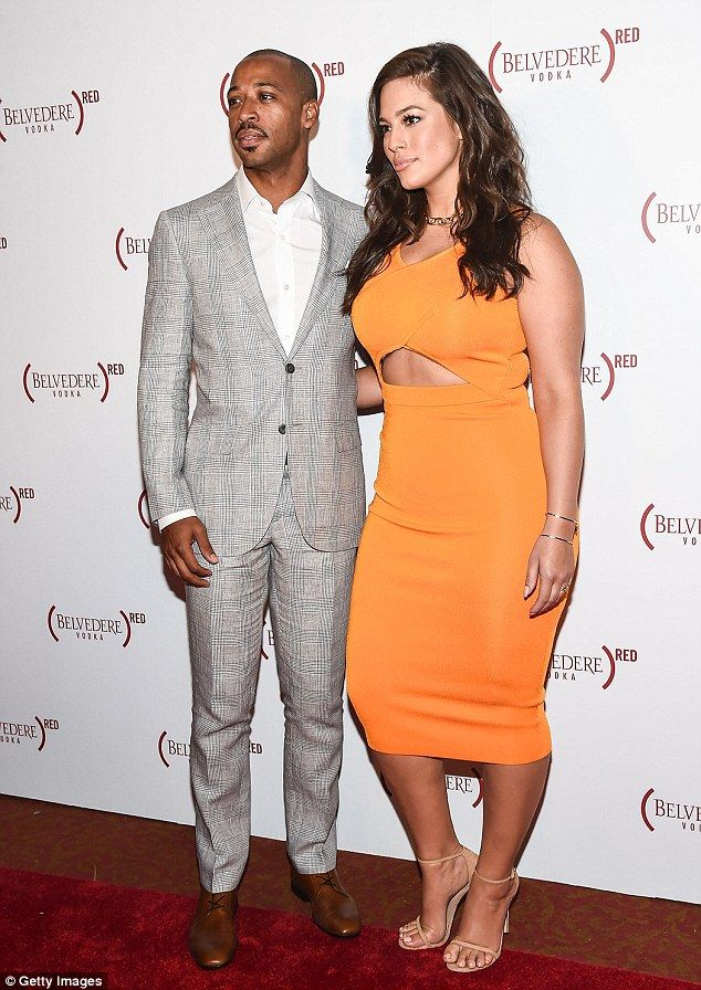 Date night! Ashley Graham and her husband Justin Ervin enjoyed an evening out together