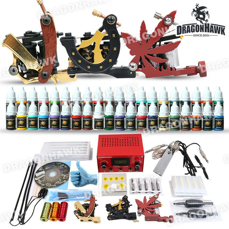 Professional Tattoo Kit 3 Top Machines 40 Color Inks Power Professional tattoo kit MGT-5 for sale. [DIY-407(3.5-MGT-5)] - US$99.95 : Dragonhawk tattoo supplies, tattoo kits,tattoo machines for sale global form tattoodiy.com