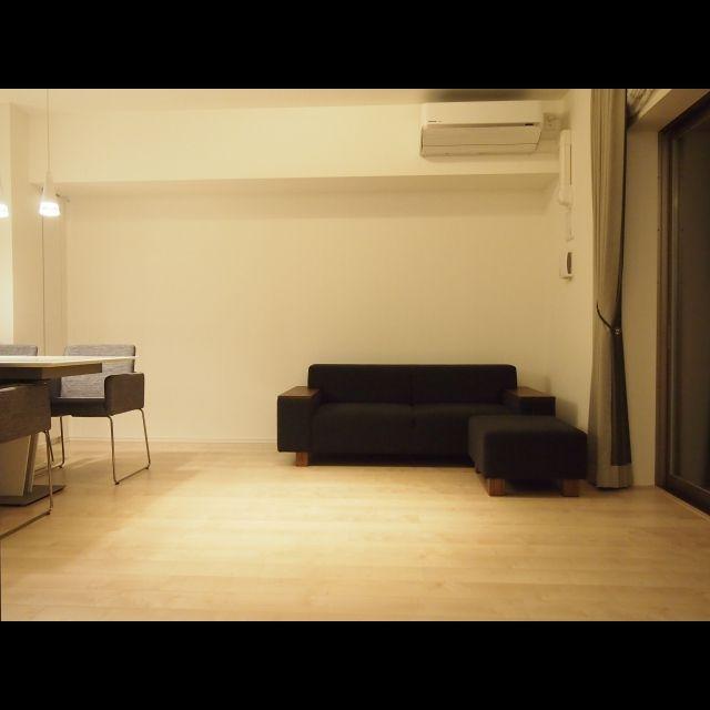 ミニマリスト/リビング/シンプルライフを目指す/ソファのインテリア実例 - 2015-08-13 23:39:07 | RoomClip(ルームクリップ)