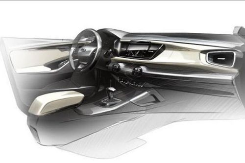 Kia Rio Interior Sketch 2016 Car Interior Sketch Car Interior