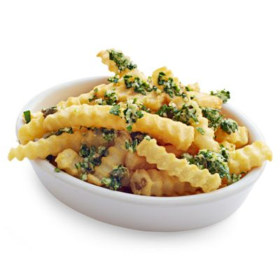 For an Italian-inspired way to make your frozen French fries more delicious, try this parmesan-herb recipe.
