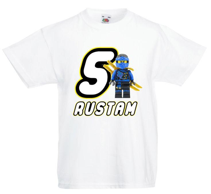 Ninjago personalised t-shirt