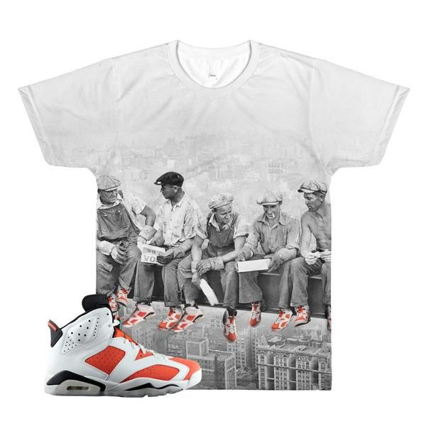 85bbc994af4d1c Jordan 6 Gatorade T-Shirt   Retro 6 Shirt