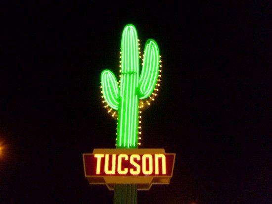 Tucson Vintage Neon Signs Kitsch The Allee Willis