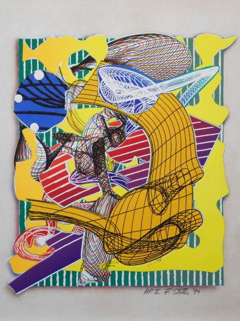 Frank Stella, 'Figlefia', 1994, Anders Wahlstedt Fine Art | Artsy