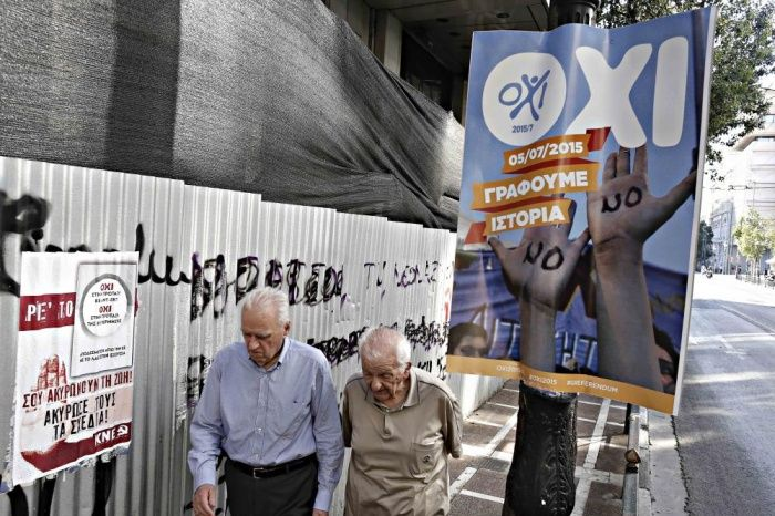 Greece prepares for referendum – in pictures