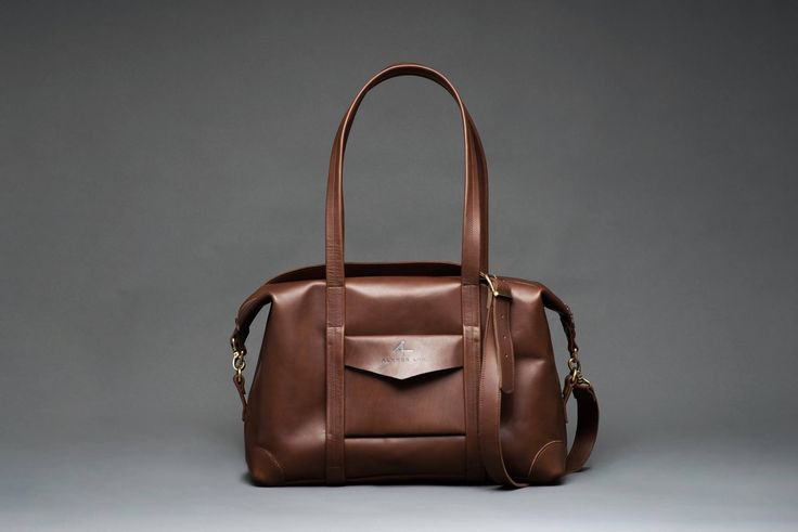 ALXNDR LEN  Small size leather Duffle Bag