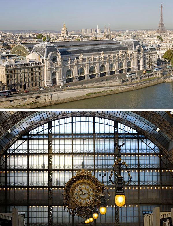 Musee d'Orsay, Paris. One of my all time favorite museums.