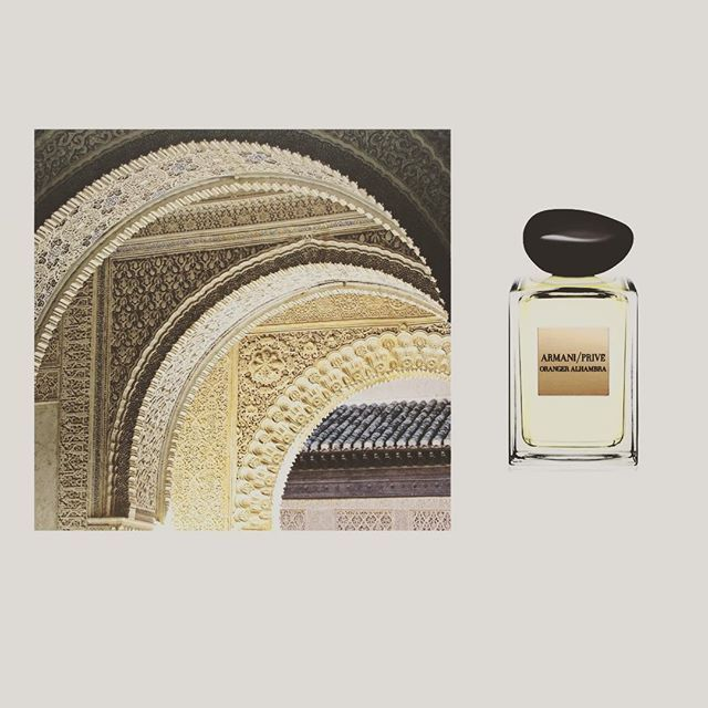 Morning! New post is online on Enscent.me!Just back from my trip in Andalusia. Arabian night ispirations with Oranger Alhambra by @armani privè. •lemons •ginger orange • bergamot • petitgrain essence • rosemary• jasmine • majoram • patchouli • oakmoss.  #armani #oranger #alhambra #spain #granada #Fragrance #Scent #Parfume #Parfumes #Perfume #Perfumes #Fragrances #Scent #Scentoftheday #Fragranceoftheday #Scentcollection #Fragrancecollection #Beauty