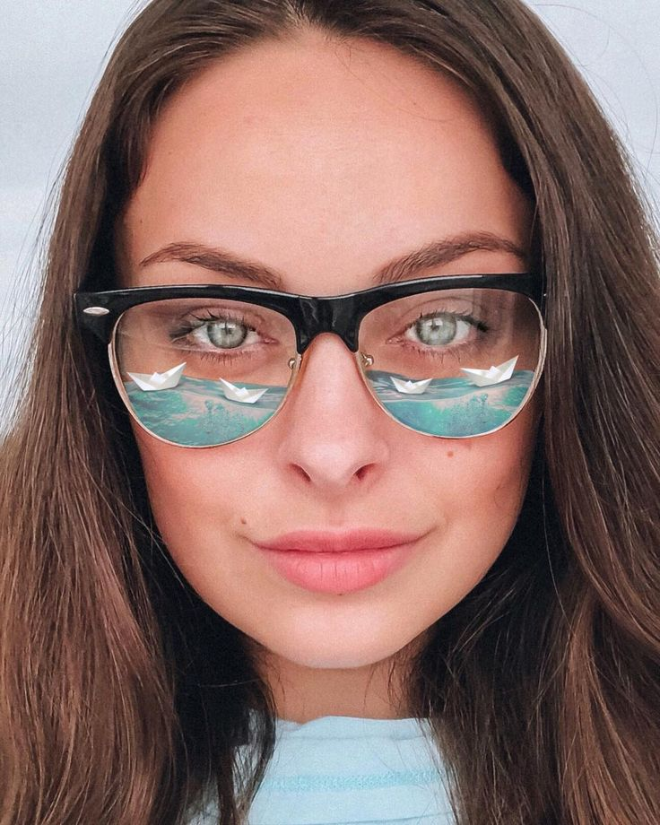 редактор фото вставить очки впервые увидела