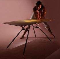 contemporary folding table MILD by Nauris Kalinauskas Contraforma