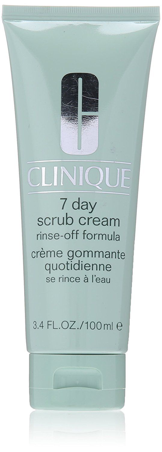 Clinique 7 Day Scrub Cream Rinse Off Formula for Unisex, 3.4 Ounce * Check this awesome image  : Face Exfoliators, Polishes and Scrubs