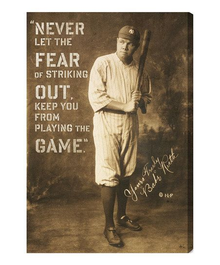 Persistence Motivational Quotes: 25+ Best Babe Ruth Quotes On Pinterest