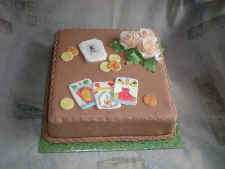 Sladké potěšení - Fotoalbum - Netradiční a narozeninové dorty - Netradiční dorty - Pro hráče mariáše