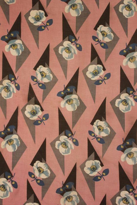 44 Best 1920 39 S Textile Patterns Images On Pinterest Textile Design Textile Patterns And Print