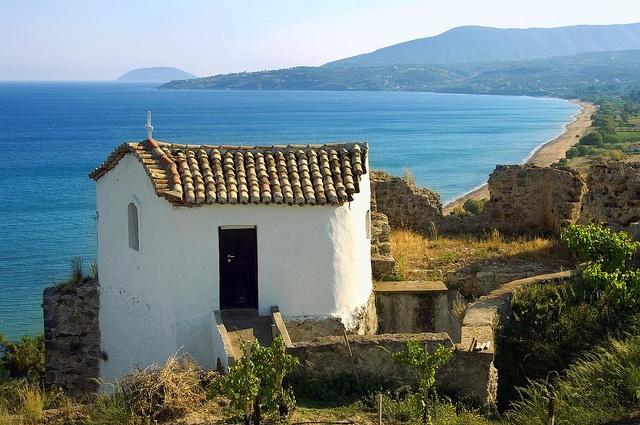 The Romanos, Costa Navarino—Koroni