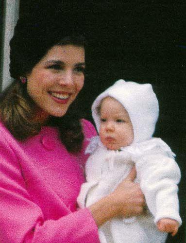 Happy Mother's day  Princess Caroline of Monaco