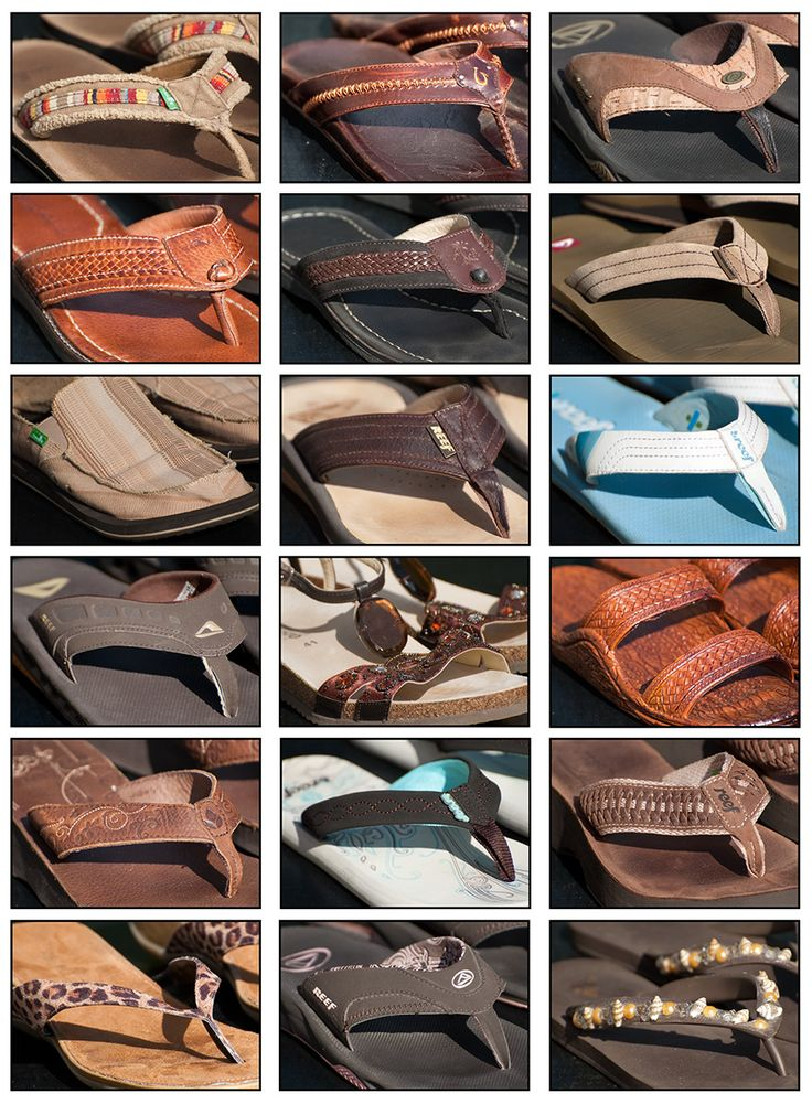 Slippers & Sandals from Reef and Sanuk