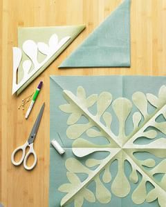 How to Make a Hawaiian Quilted Pillow Cover   Martha Stewart
