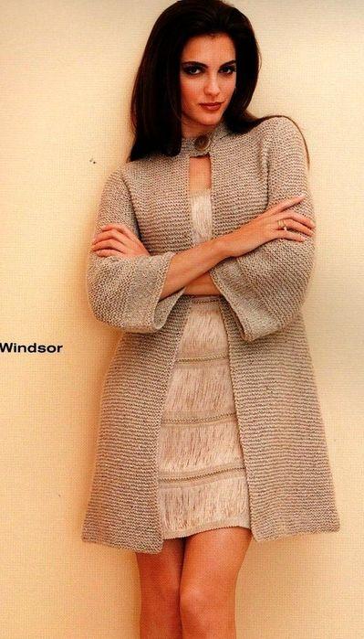 модный свитер платочной вязкой - Поиск в Google