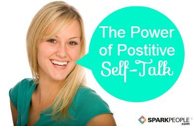 Quit bringing yourself down this second! ! (Yes, you!) | via @SparkPeople #positivity #inspiration #health #wellness