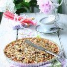 Knäckig rabarber- & äppelpaj - Recept från Mitt kök - Mitt Kök | Recept | Mat | Bloggar | Vin | Öl