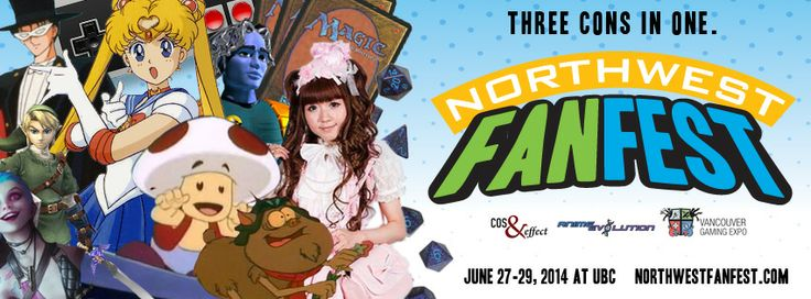The new header for Northwest Fan Fest! We'll have all the things!