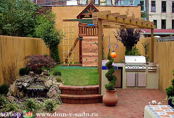 Планировка двора частного дома | Красивый Дом и Сад