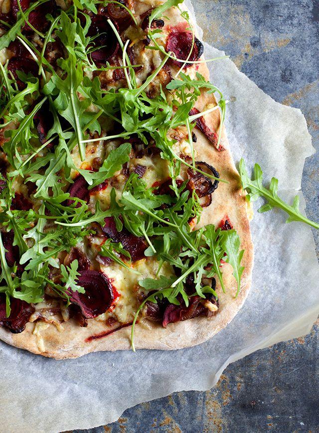 Pizza med rødebede - Ny kogebog fra Samvirke - The Food Club