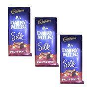 Send online Cadburys Silk to your friends birthday. Same day gifts delivery to all location in Chennai. Visit our site : www.giftschennai.com/send-chocolates-to-chennai.php