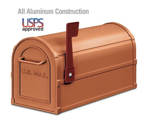 TAPCO Antique Heavy-Duty Post Mount Mailbox at Menards