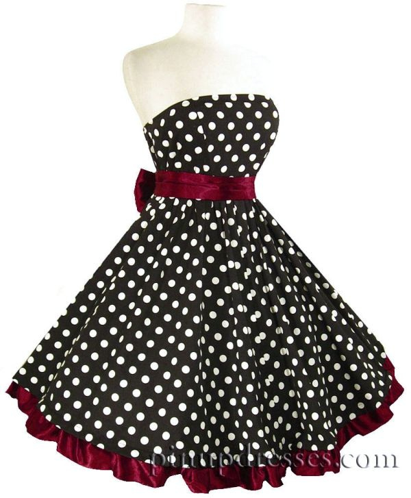 50's style polka dot dress by Gmomma