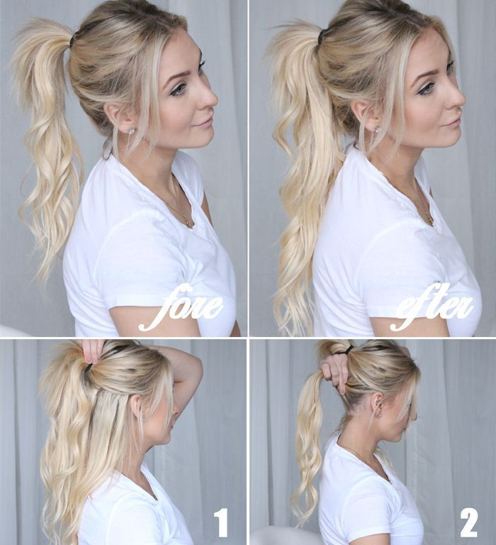 XXL Volume: With these 8 tricks every boring hairstyle becomes a WOW look!