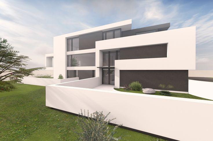 die 25 besten ideen zu mehrfamilienhaus bauen auf pinterest grundriss mehrfamilienhaus. Black Bedroom Furniture Sets. Home Design Ideas