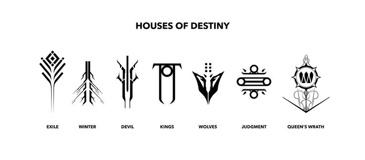 Media] PDF of all the Houses Logo's I created in Ai : DestinyTheGame