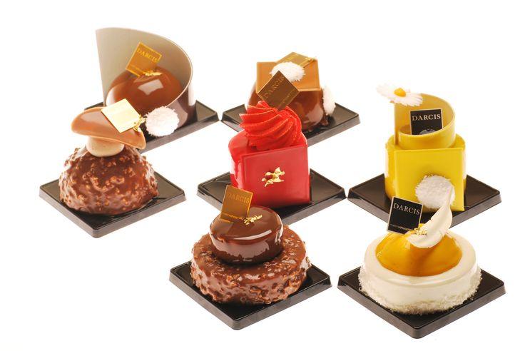 """Session """"Pâtisserie Individuel"""" avec Johan Martin (Ecole Bellouet Conseil - Fr)  (Crédit : Stephane Meyer pour DARCIS Maître Chocolatier)"""